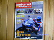 MR&S 4/2003 Speed Triple,Tuono,Z 1000,M 800s i.e.,Varadero,GSX-R 1000,HSA-Buell