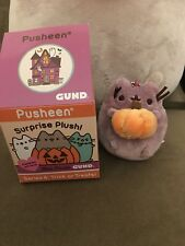 Gund NEW Pusheen Surprise Blind Box Series 4 Ghost Holding Pumpkin Halloween