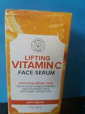 The Beauty Foundry Lifting  Vitamin C  Face serum  with Hyaluronic Acid  1 oz