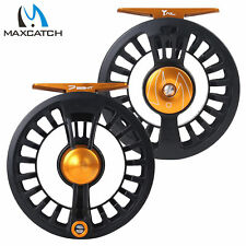 Maxcatch Tail 5/6 7/8wt Light Weight Fly Fishing Reel Large Arbor Teflon Disc
