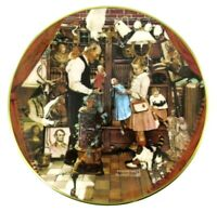 """1979 Norman Rockwell Collectors Plate April Fool ~ Ghent ~ 8 1/2"""" VINTAGE"""