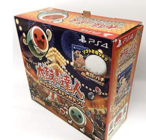 PS4 Playstation TAIKO NO TATSUJIN Drum & and Game set Session Dodonga Don