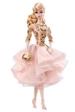 Barbie Silkstone Fashion Model Black & Gold Cocktail Dress Gold Label Collection