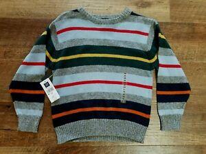 NEW!! Boys GAP striped sweater Sz.XS (4)