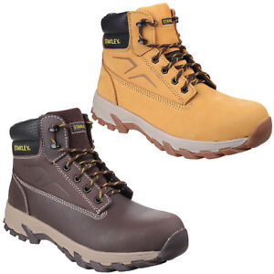 Stanley Tradesman Safety Toe Cap Leather Hiking Boots Shoes UK7-12 Mens