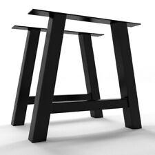 2x Piedi tavolo gambe a forma di A - metal table Steel legs - Pieds de table