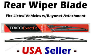 """Rear Wiper Blade - 17"""" for Bayonet Arms - fits Listed Toyota Vehicles - 17-3"""