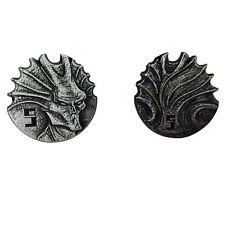 """Norse Foundry RPG D20 Adventure Coins """"5"""" Silver Piece Set of 10 - Sci-Fi  Star"""