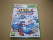 Sonic & All-Stars Racing Transformed (Microsoft Xbox 360, 2012)