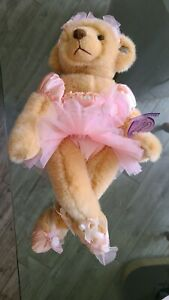 "Annette Funicello Collectible Teddy Bear 16"" Ballerina NIB #93/2500"
