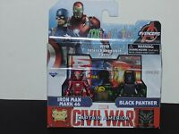 Minimates Avengers - Captain America, Civil War - Iron Man 46 & Black Panther
