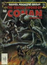 SAVAGE SWORD OF CONAN MAGAZINE #86 NEAR MINT NEWSSTAND COPY (1st series 1974)