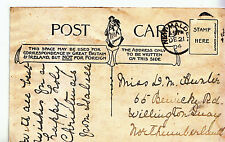 Genealogy Postcard - Family History - Hunter - Northumberland   U2339