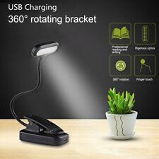 USB Flexible Reading LED Light Clip-on Beside Bed Desk Table Lamp Book Lamp Mini