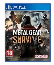 Metal Gear Survive Ps4 Game for PlayStation 4 Sony Action Shooter