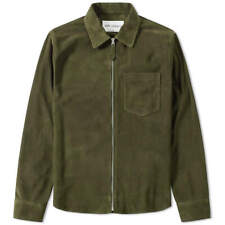 OUR LEGACY Suede Zip Shirt | Birch | EU 44 | Made In Portugal | BNWT | RRP £585