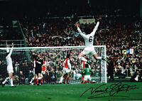 PROOF NORMAN HUNTER SIGNED PHOTO AUTOGRAPH COA LEEDS UNITED UTD FA CUP 1972