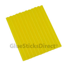 "GlueSticksDirect Translucent Yellow Glue Stick mini X 4"" 12 sticks"