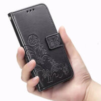 For Xiaomi Redmi Note 7 6 5 8 Pro 4X 3 6A Pattern Leather Case Flip Wallet Cover