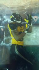 "HINES WARD, ""THE DARK KNIGHT"" GOTHAM CITY MCFARLANE, STEELERS (FREE SHIPPING)"