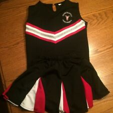 Young champions cheerleading uniform vest skirt turtleneck bows