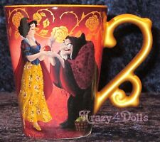 Disney Designer Fairytale Doll Heros VS Villains Snow White&The Witch Mug NEW