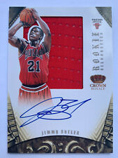 2013 Panini Crown Royale Jimmy Butler RPA Rookie Auto Silhouettes Bulls /99 🔥