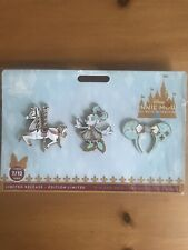 Minnie Mouse:The Main Attraction Pin Set King Arthur Carrousel IN HAND