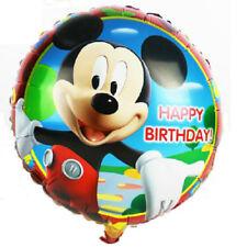 Mickey Mouse 4 X Balloons Cartoon helium party birthday Favours Disney Boys Girl