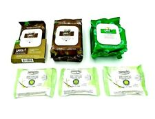 New listing Lot of 6- Yes To Coconut Hydrate Cleansing Wipes/ Simple Eye Makeup Remover Pads