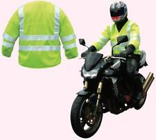 Hi Viz Reflective Over Jacket Motorcycle Scooter Bike Quad Safety Vest High Vis