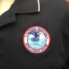 National Maritime Intelligence Center Men's Size Large Polo Extreme Polo Shirt