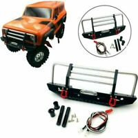 Front Bumper + Light Kit + Mounting Hardware for Redcat GEN8 1/10 RC Crawler