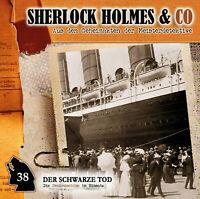 SHERLOCK HOLMES & CO - DER SCHWARZE TOD - FOLGE 38  CD NEW DUSCHECK,MARKUS