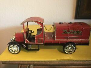 1919 GMC Tanker Truck True Value 1/30 Ertl Diecast Bank NIB