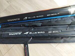 New model 2021 FAVORITE Blue Bird Travel BB1-804L-T Spinning Rod perch trout