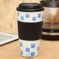 NBA Dallas Mavericks 16 Oz Plastic Tumbler Travel Cup Hot/Cold Coffee Mug Lid