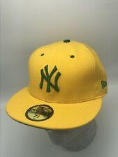 New Era Cap Yellow | Kelly Green Metallic Logo 59FIFTY NY Yankees