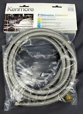 Kenmore 8' Braided Stainless Steel 8' Dishwasher Connector #22 13000 -Incomplete