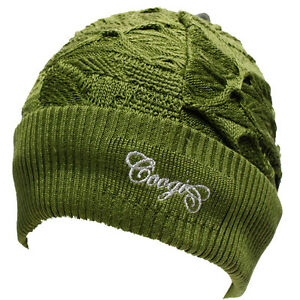 COOGI Winter Skull Cap Hat Adult One Size Acrylic  tundra ca61004b