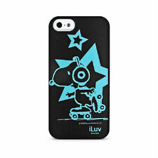 iLuv Snoopy Glow-in-the-Dark Case for iPhone 5 / 5s / SE 2016 (iCA7T381 BLK)