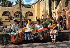 BR30304 Las Palmas de gran Canaria trajes tipicos folklore costume music Spain