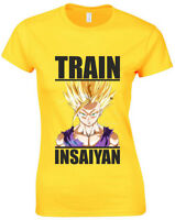 Train Insaiyan, Ladies Printed T-Shirt