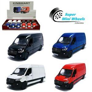 Kinsmart 1:48 Mercedes-Benz Sprinter Van - Diecast Toy Car - 4 Colors You choose