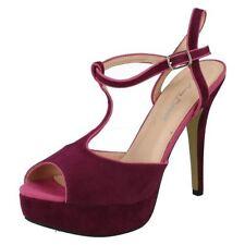 Stiletto Suede Sandals Heels for Women