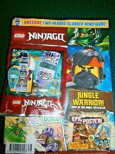 LEGO Ninjago Magazine Issue 78 With Two - Headed Islander Mini-Figure  2021