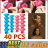 40Pcs Magic Hair Care Rollers Silicone Hair Curler Hair Curling Styling DIY Tool