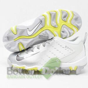 Nike 917171-112 Vapor Untouchable Shark 3 BG Cleats White/Mtlc Dark Grey