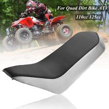 Nero vinile espanso sella per 110cc 125cc Racing stile moto Dirt Quad ATV 4-Whee