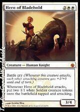 Hero of Bladehold // NM // PR Promos // Engl. // oversized // Magic
